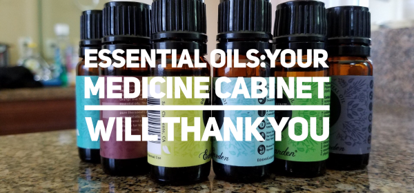 Essential Oils In Your Medicine Cabinet